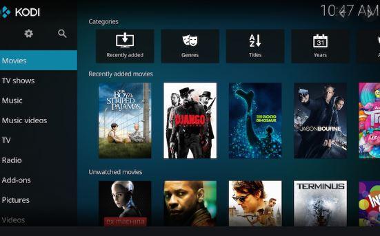 Kodi Media Server App