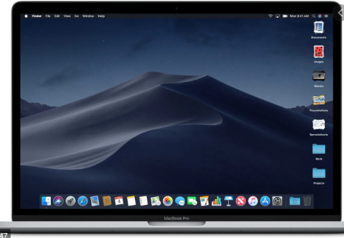 Mac Mojave Desktop Stacks
