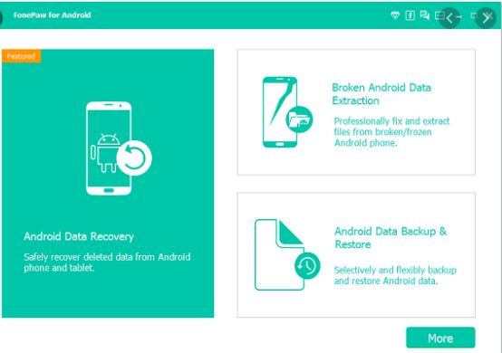 FonePaw Android Recovery Tool to Recover Your Deleted Texts on Android