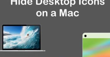 How To Hide Desktop Icons Mac