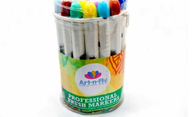 Art -N- Fly Brush Tip Pens - Top 10 Best Copic Alternatives