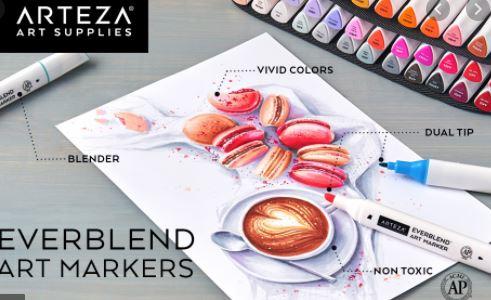 Arteza Art Markers - Top 10 Best Copic Alternatives