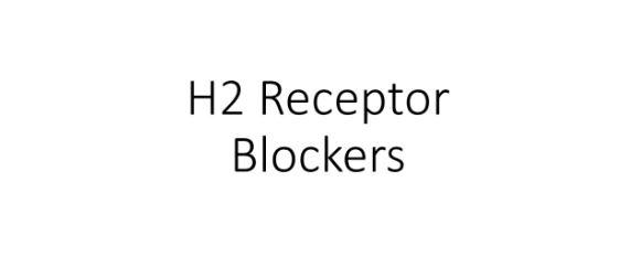 H2 Histamine Receptor Antagonist