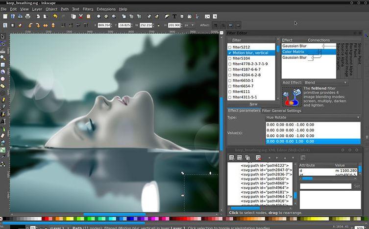 Inkscape - Free Photoshop Alternatives