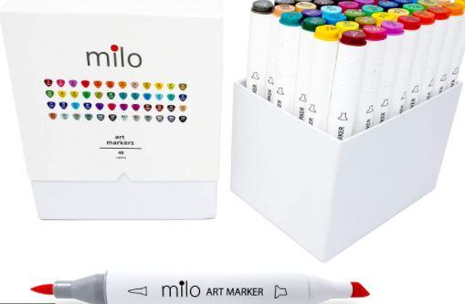 Milo 48 Art Marker - Top 10 Best Copic Alternatives