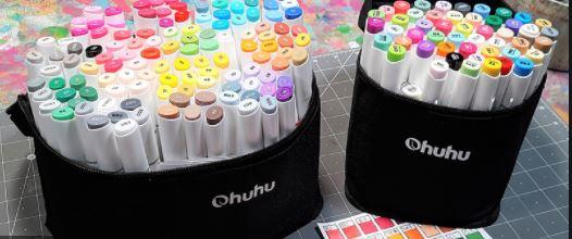Ohuhu Dual Tips Art Marker - Top 10 Best Copic Alternatives