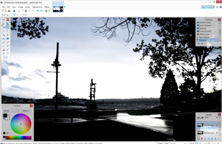 Paint.NET - Free Photoshop Alternatives