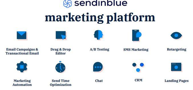 Sendinblue - Mailchimp Alternatives