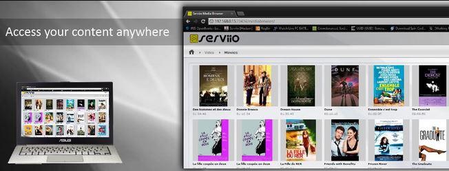 Serviio - Top 10 best Kodi alternatives