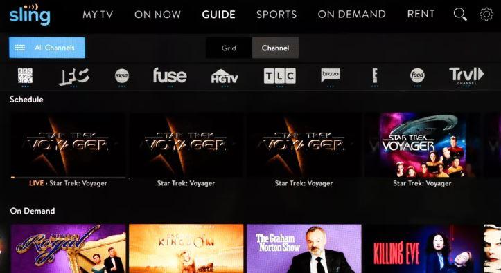 Sling TV - Cable TV Alternatives