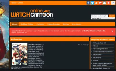 WatchCartoonOnline - Kisscartoon Alternatives
