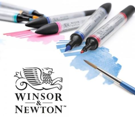 Winsor and Newton Landscape Markers - Top 10 Best Copic Alternatives