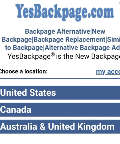 Yes Backpage