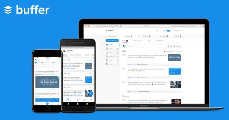 Buffer - Best Hootsuite Alternatives