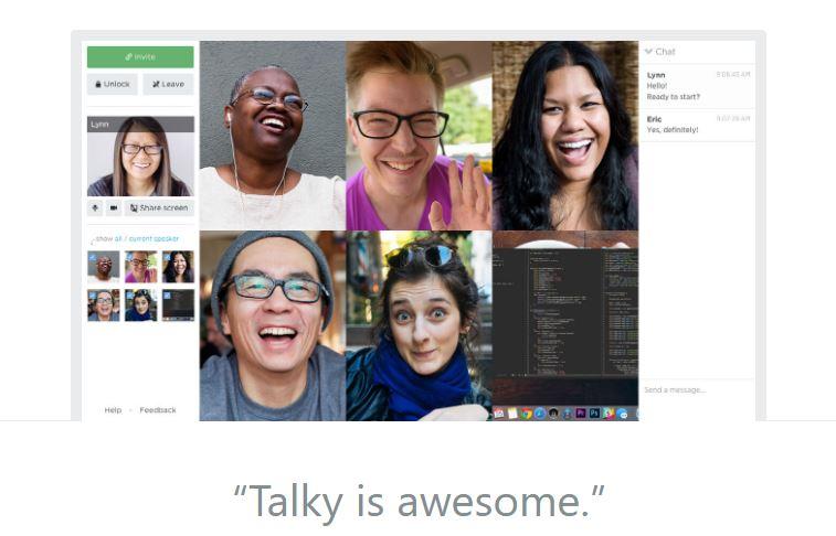 Talky – Best Skype Alternatives