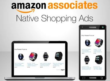 2. Amazon Native Shopping Ads