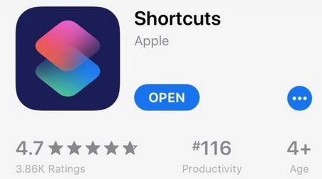 7. Shortcuts